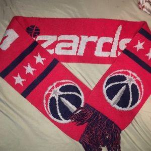 Washington Wizards Scarf One Size red blue $60